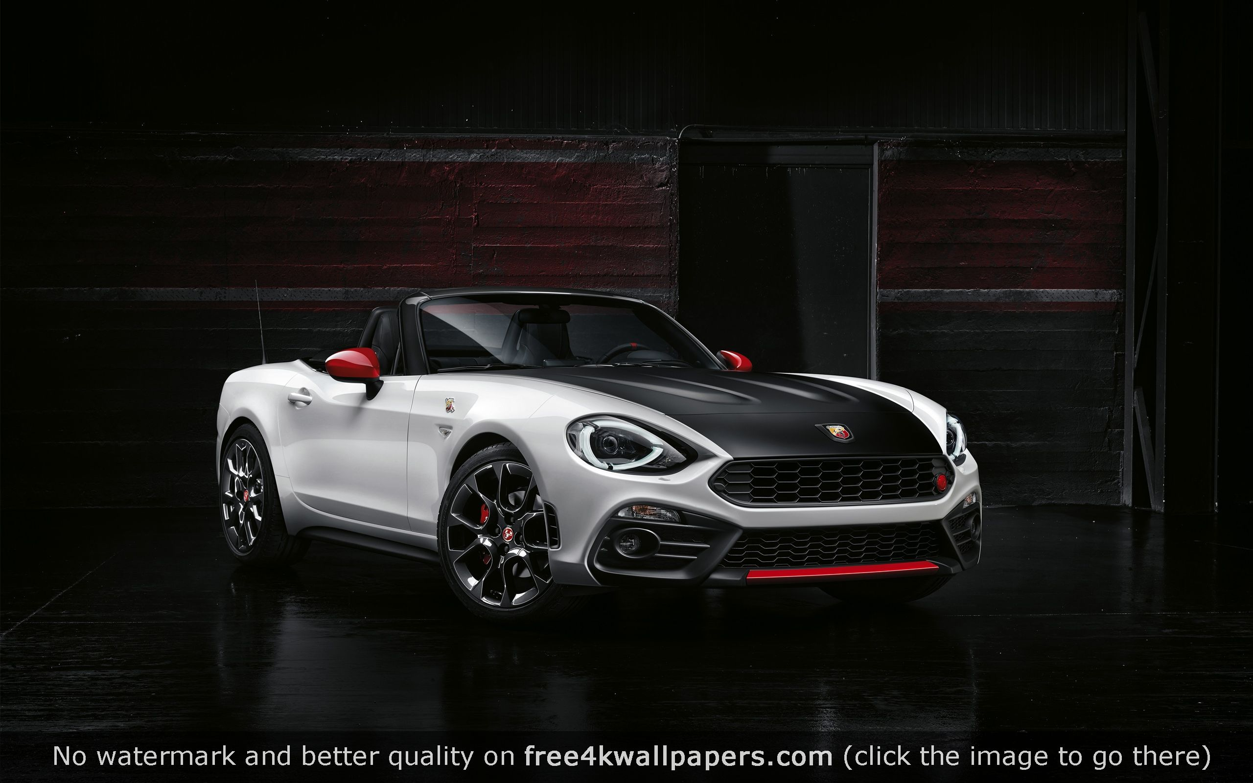 fiat spider abarth 4k or hd wallpaper for your pc, mac or mobile