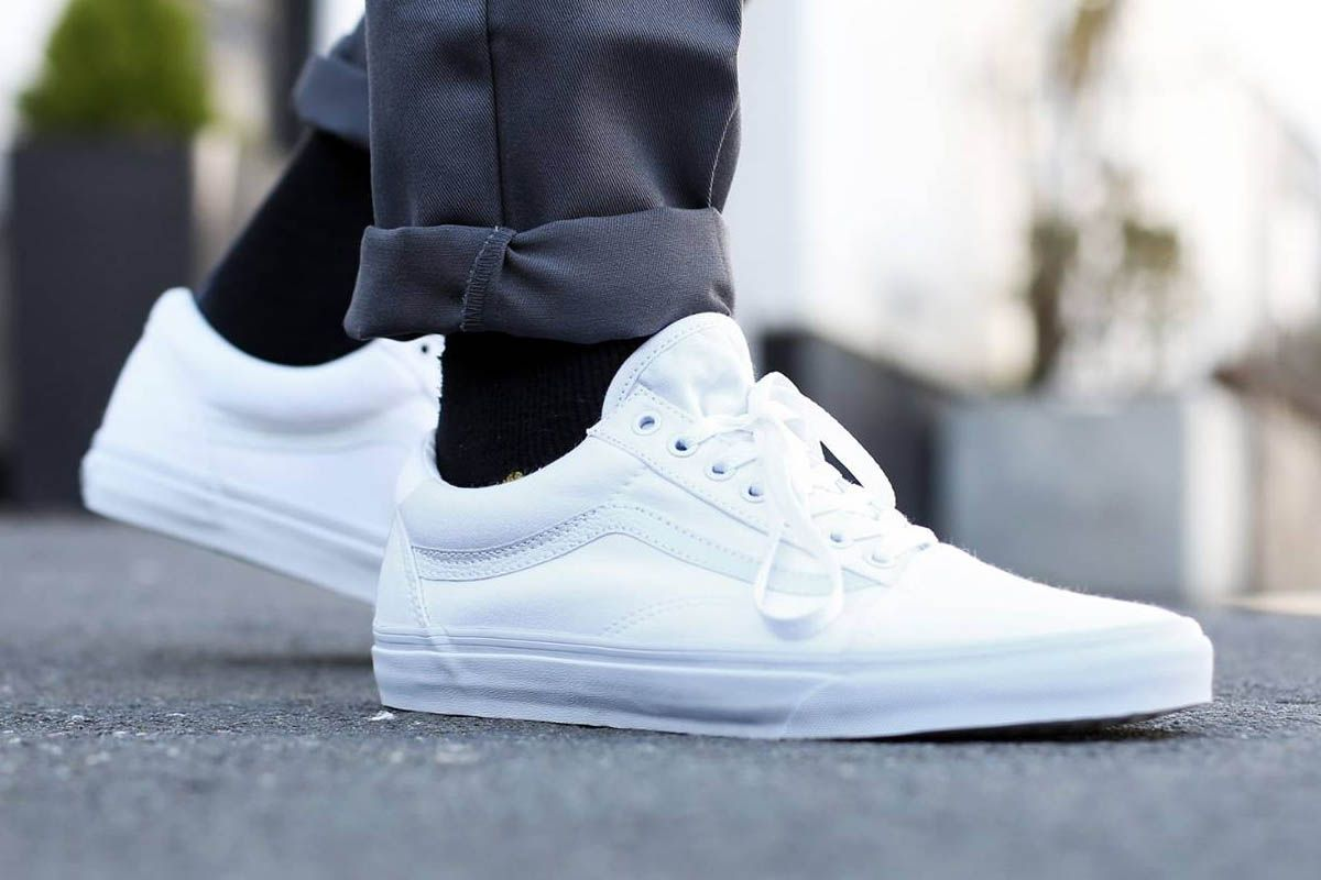 VANS Authentic \u0027True White\u0027