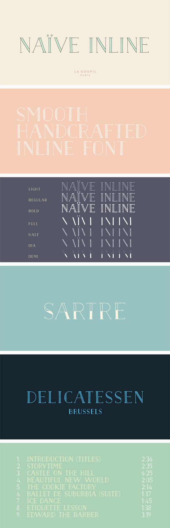 Download Naive Inline Font Pack | Font packs, Naive, Fonts