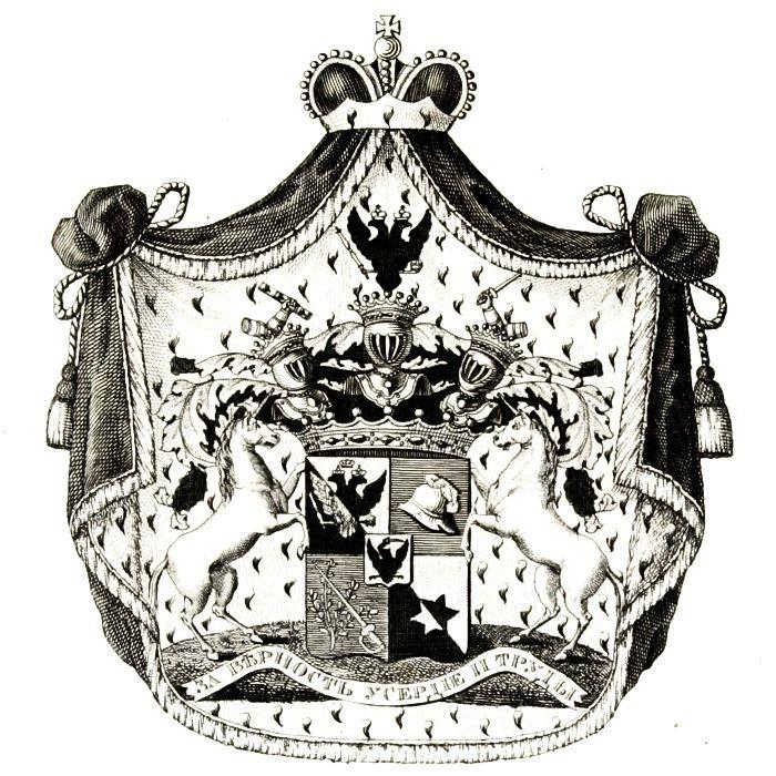 Bilderesultat for saltykow coat of arms