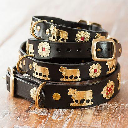 Appenzeller Halsband Schwarz Halsband Hund Halsband Hundehalsband