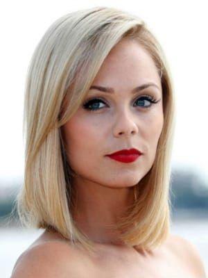стрижки на средние волосы фото для блондинок