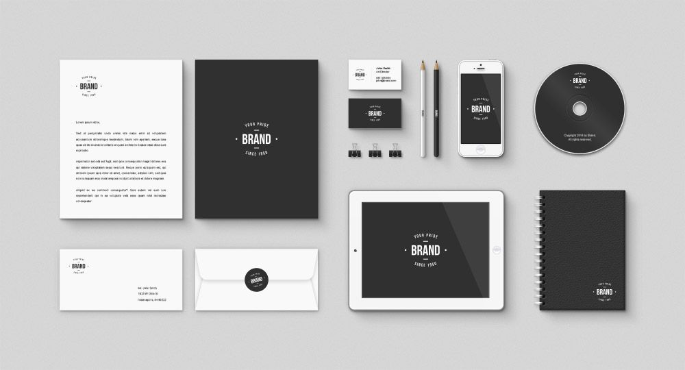Download Corporate Brand identity Free Mockup PSD Kit. The