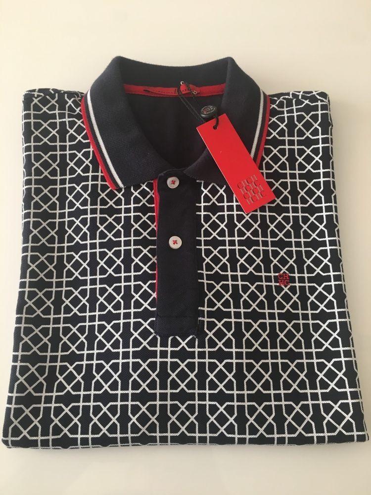 1e769e1857 Mens Carolina Herrera Short Sleeved Polo Shirt - Slim Fit - Size M #fashion  #clothing #shoes #accessories #mensclothing #shirts