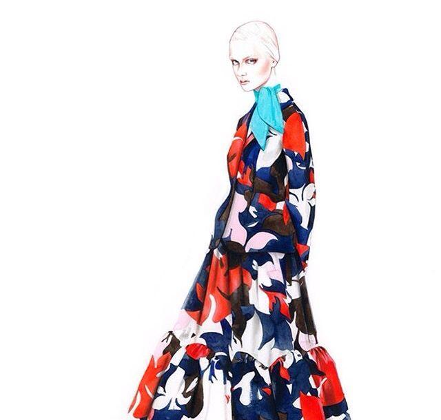 Antonio Soares fashion illustrator fashion sketches