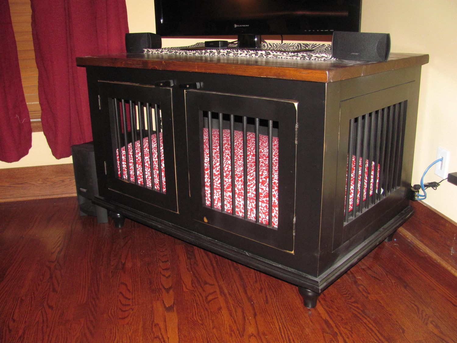 Canine Cabinets Dog Kennel For Your Home Dog Crate Diy Dog Bed