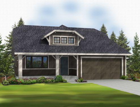 Greenstone Homes Arlington Model Rambler 1437 Sq