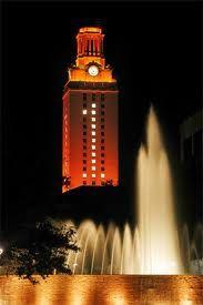 Tower at univ of Texas Austin