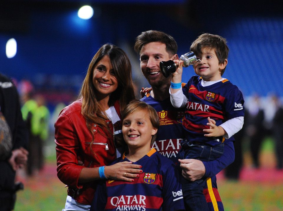 Video Barcelona Superstar Lionel Messi Reveals Name Of Third Son