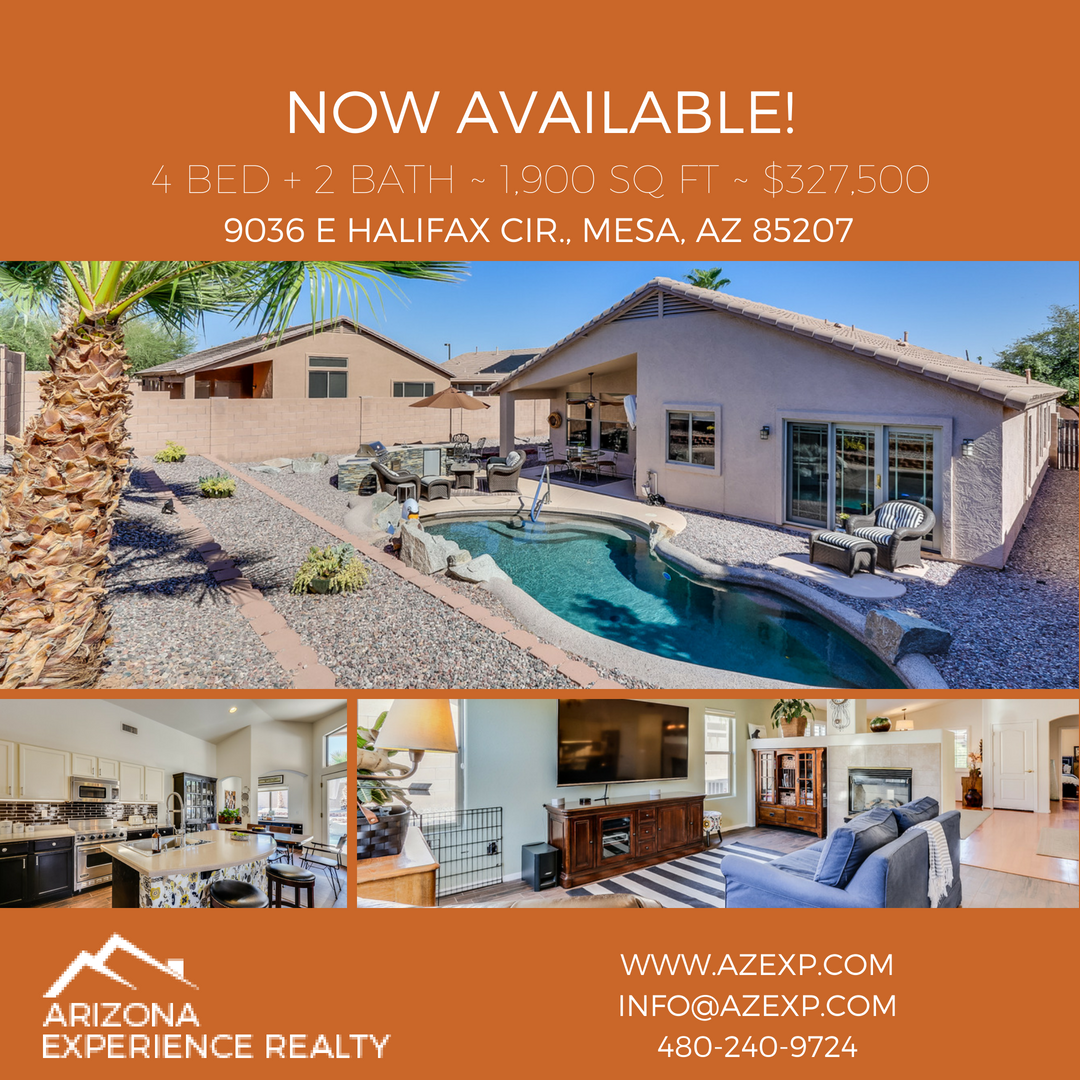 Check out our newest listing in mesa for instant information text