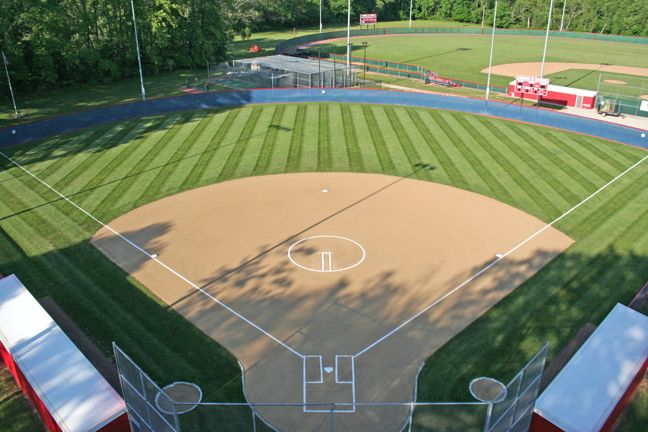 The softball field! I miss playing!