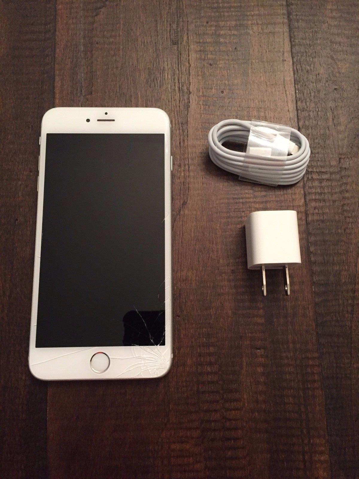 Apple iPhone 6 Plus - 64GB - Silver Verizon Smartphone - Cracked Screen Working https://t.co/LpZHHX7zGs https://t.co/4DUVSo17j5