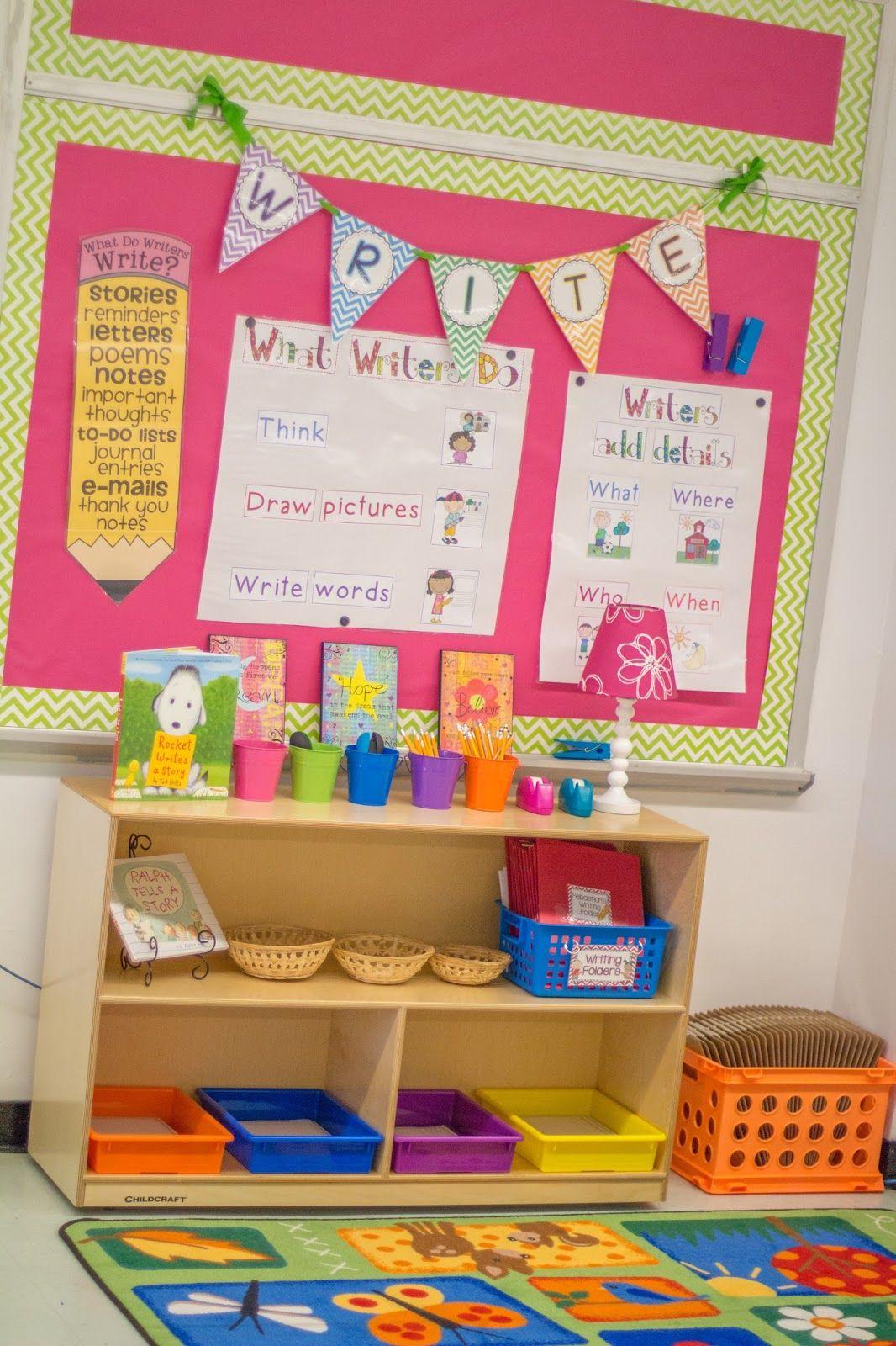 FREE Banner letters- Mrs. Ricca's Kindergarten: Classroom Organization! {FREEBIES}