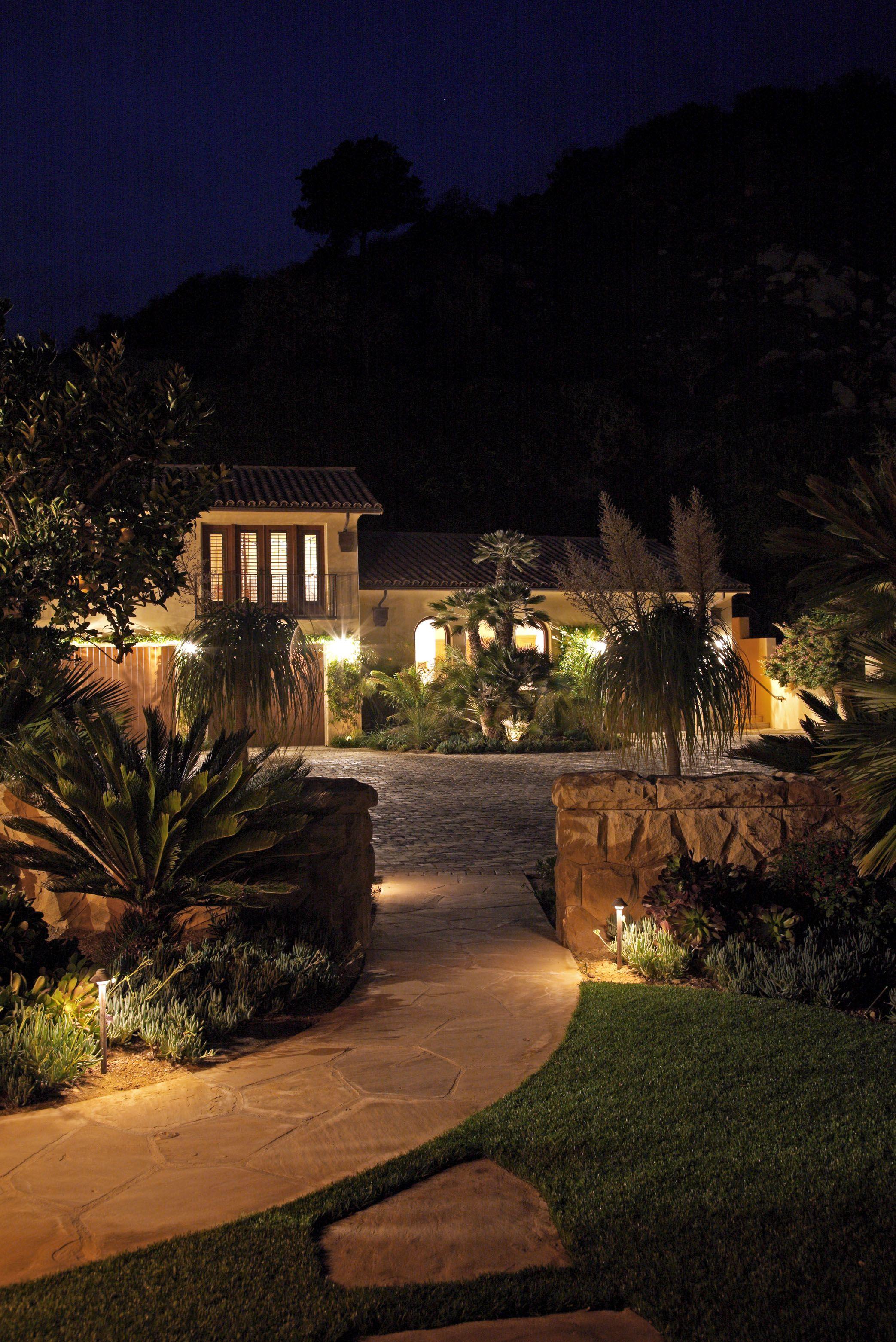 Vacation Home Landscape Lighting Landscape Lighting