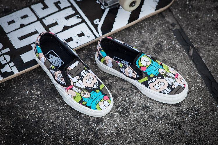 65749ec298 VANS X south park artist shoes Off the Wall slip on  Vans
