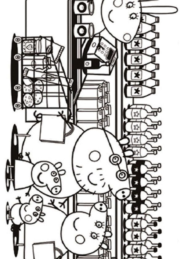 peppa pig coloring pages 14