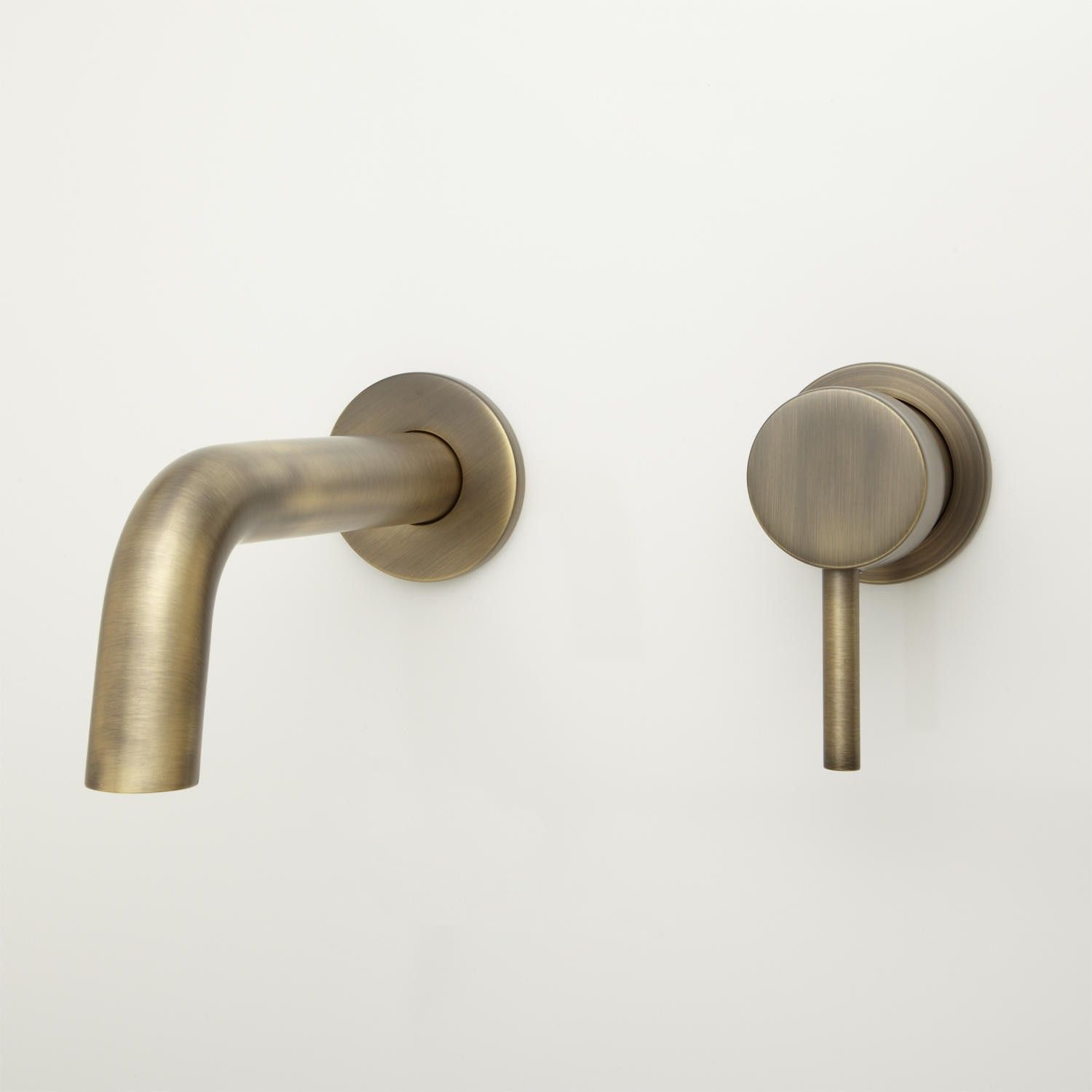 Signiture Hardware - ROTUNDA WALL-MOUNT BATHROOM FAUCET - NO ...