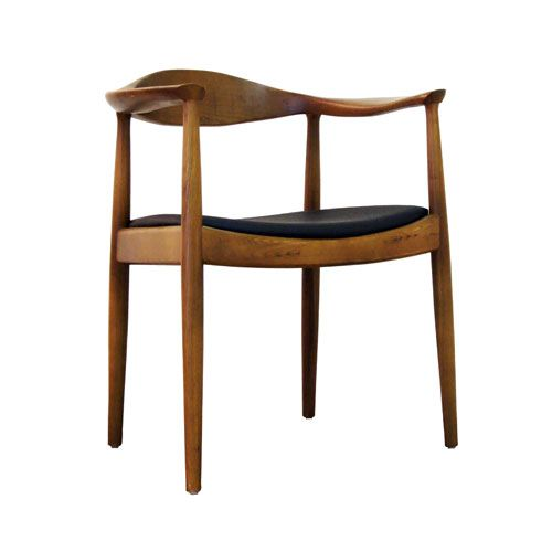Hans Wegner Style Control Brands Walnut The Kennedy Chair