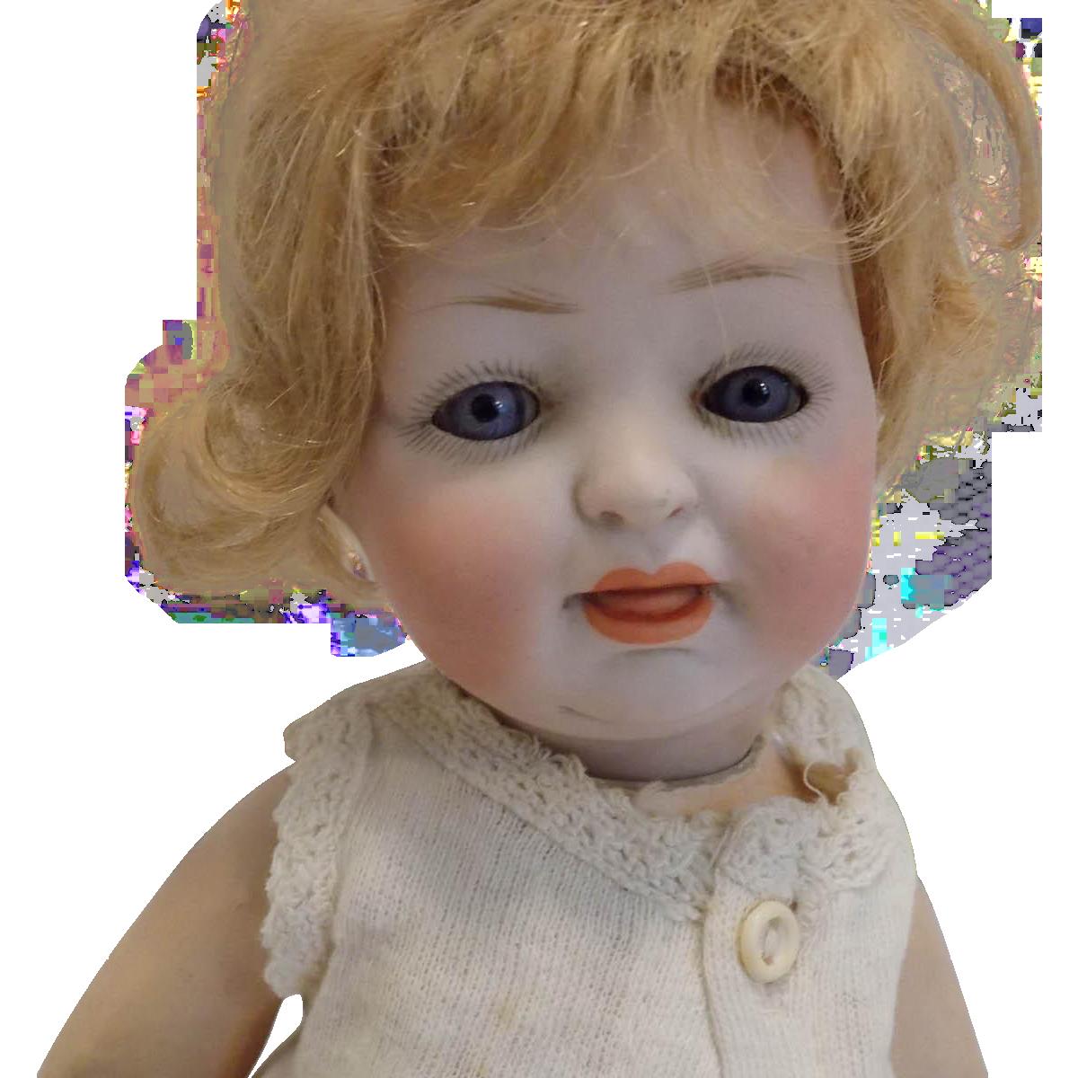 Antique German Hertel Schwab 150 Character Baby Doll Baby Dolls German Dolls Bisque Doll