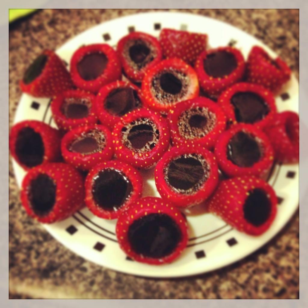 Strawberry Jello Shots! Mmmmm