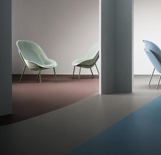 Marmoleum Walton sol linoléum Forbo Flooring Systems