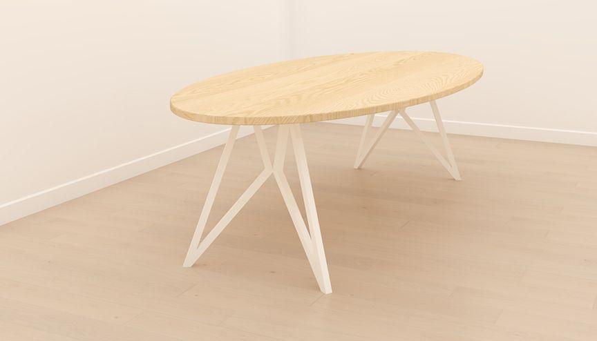 Tafel op maat ontwerpen en laten maken studio h k eettafel