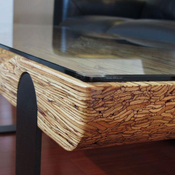 4139design Freelance Industrial Design My Parallam Coffee Table Version 1 Detail Of Grain Handmade Furniture Furniture Upholstery Laminated Veneer Lumber
