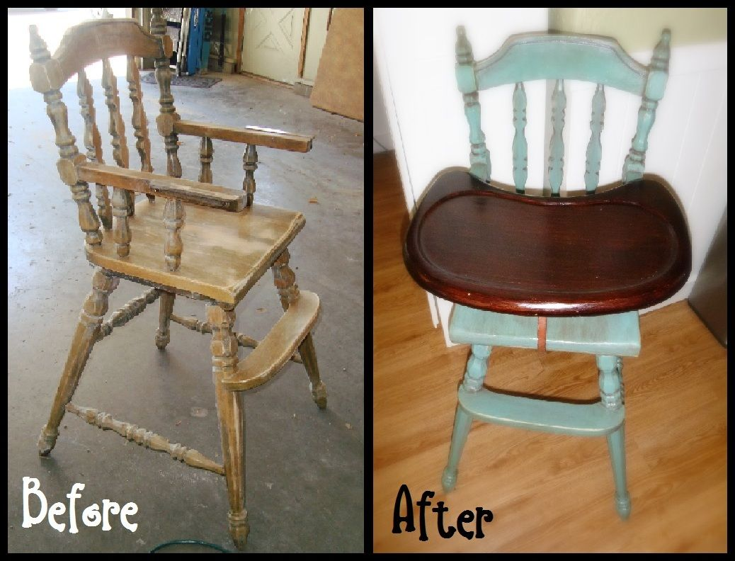 Highchair makeover chairs u upholstery inspirations pinterest