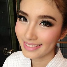 Cute Asian Girl with Clean Lashes