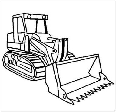 bulldozer coloring pages bulldozer coloring page | Coloring Board | Coloring pages, Colour  bulldozer coloring pages