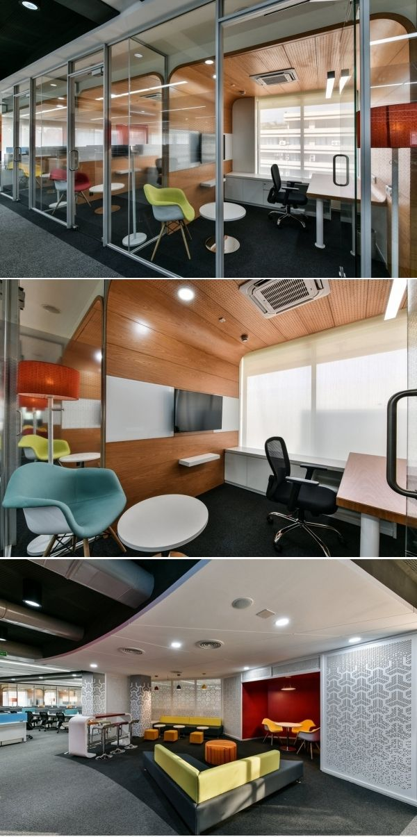 Tata Motors Offices Mumbai in 2020 Office space design