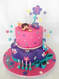 Pin by Alexandra Desiree on Cakes Pinterest Birthday cakes and
