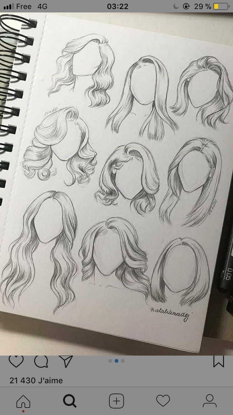 Photo of 30+ Amazing Hair Drawing Ideas & Inspiration