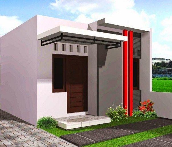 Desain Rumah  Minimalis 1  Lantai  Sederhana 8 Villas