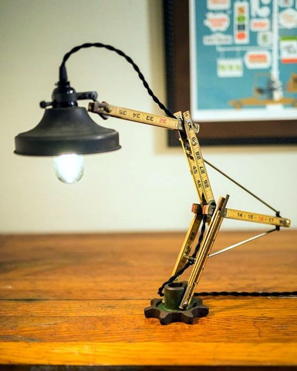 40 Recycled Lamps That Are Border Line Genius Recycled