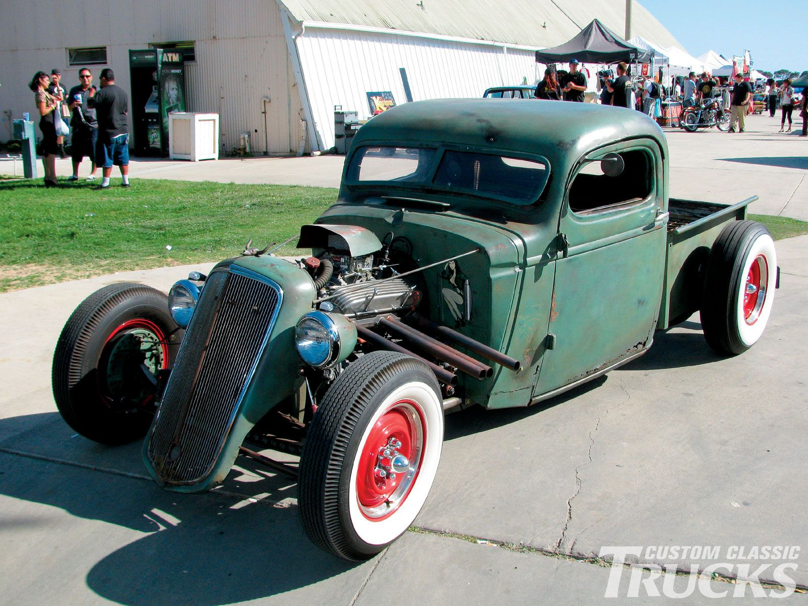 2009 Primer Nationals Classic Truck Event Hot Rod Chevy | Pick Up ...