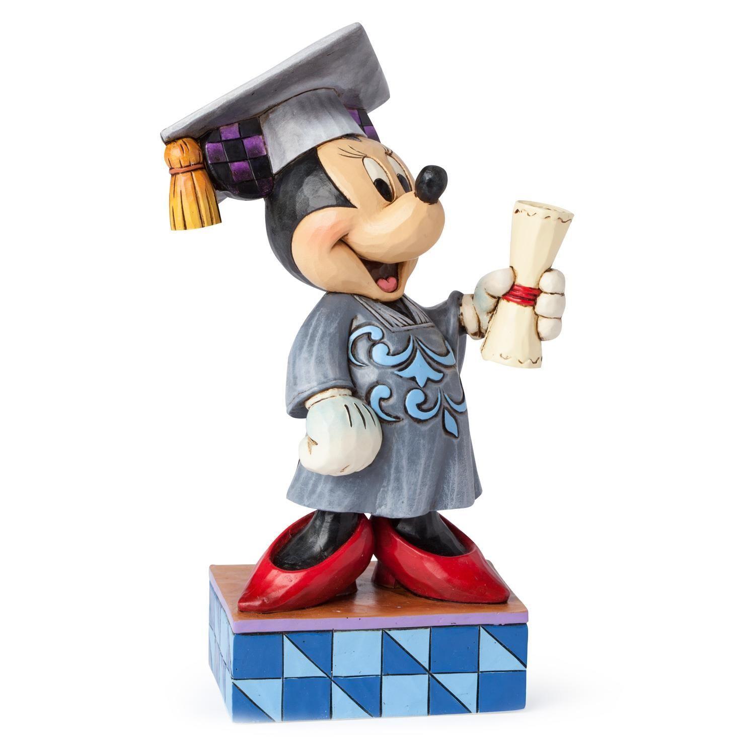 Congrats grad minnie mouse figurine disney traditions