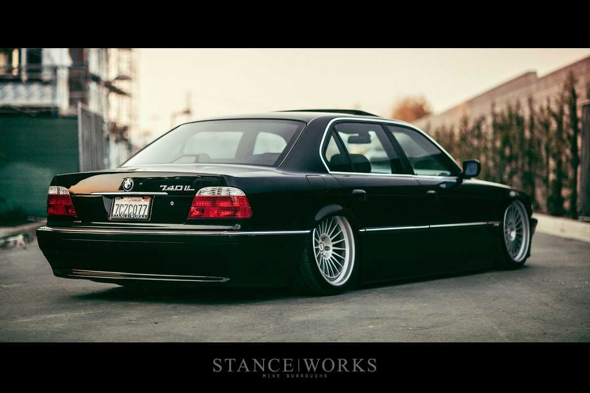 Saying Our Farewells The Stanceworks Project 2000 E38 Bmw 740il