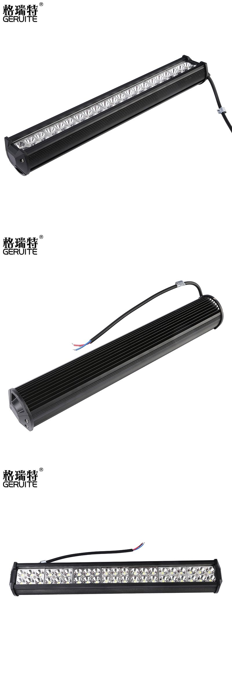 2017 126W led bar offroad Car Led Light Bar Work Driving Boat Car ...