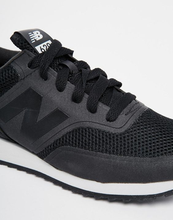 1e5896cb99d37 Image 4 of New Balance 620 Black Micro Trainers    Trainers ...