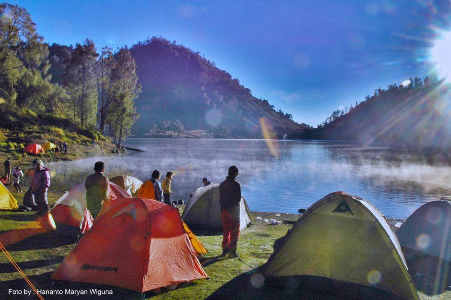 Ranu Kumbolo, Gunung Semeru | Danau, Pegunungan, Alam
