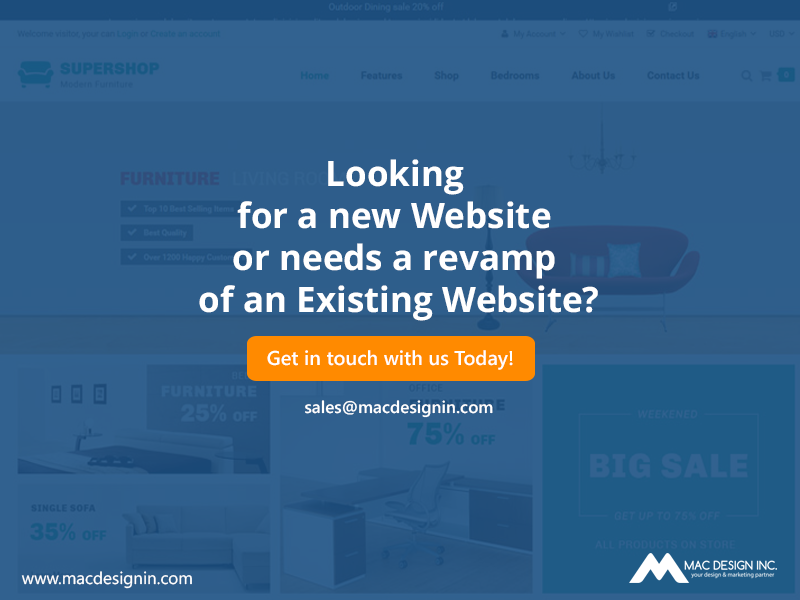 Looking For A New Website Or Needs A Revamp Of An Existing Website Get In Touch With Us Today Small Business Web Design Digital Marketing Business Web Design