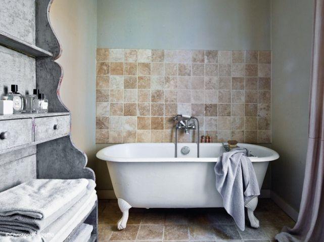 deco campagne deco recup salle de bains maison. Black Bedroom Furniture Sets. Home Design Ideas