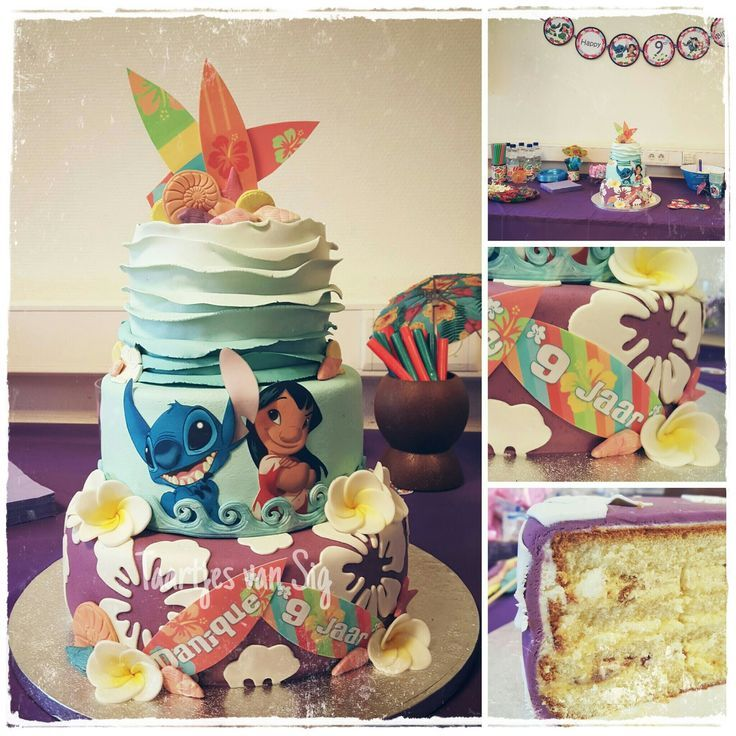 Image Result For Lilo And Stitch 1st Birthday Party Lunas Third