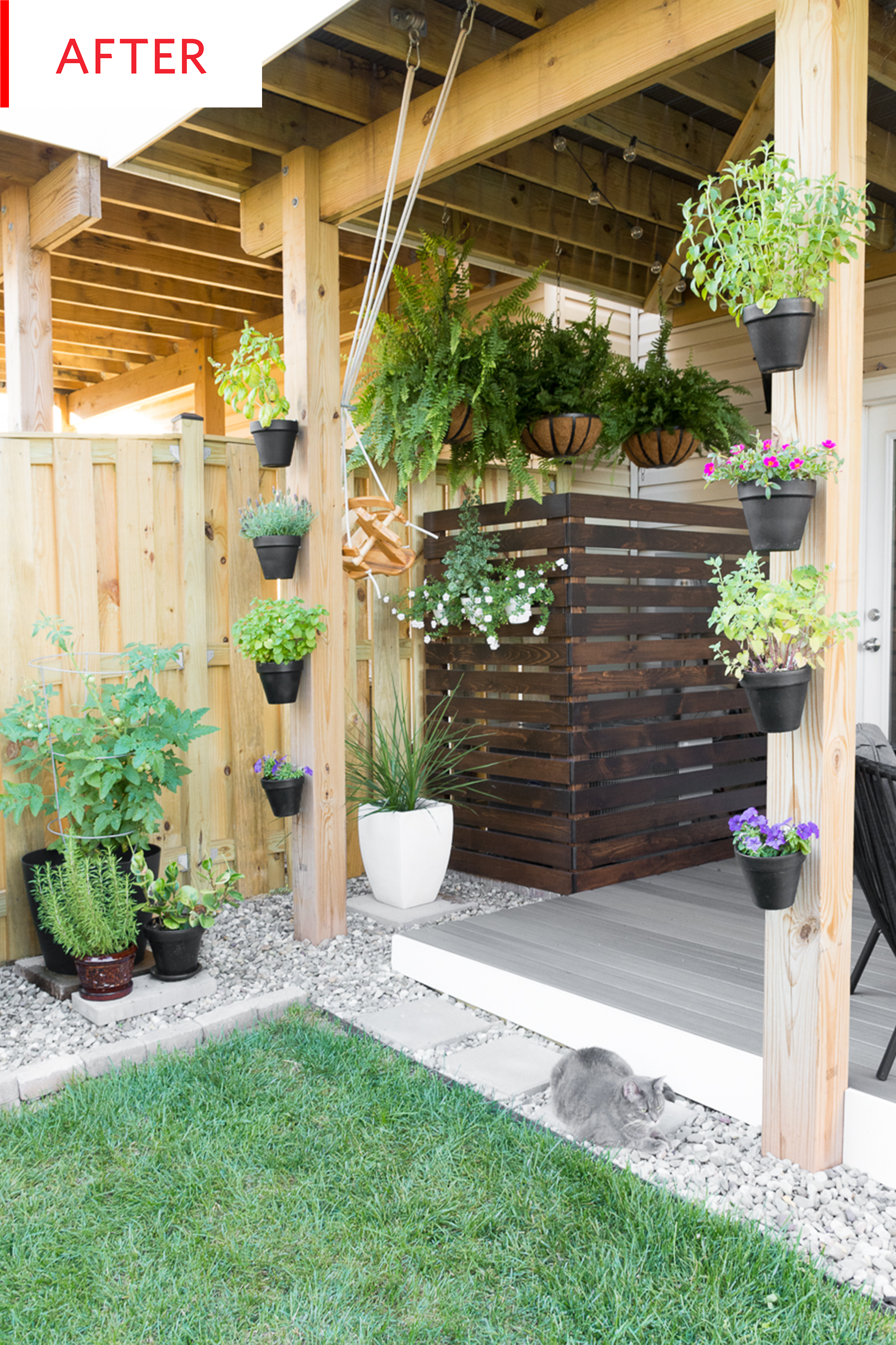 Before And After This Tiny Backyard Is Now A Full Blown Living