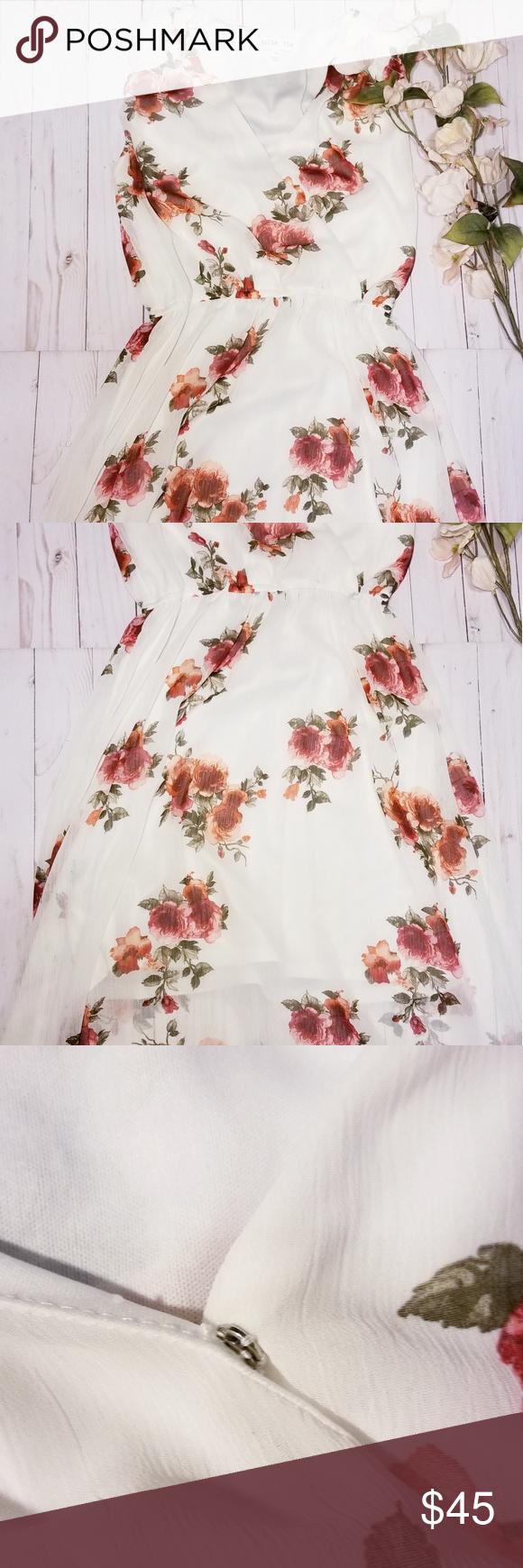 25 Sale Jolie Vie Floral Maxi Dress Floral Maxi Dress Floral Maxi Flowy Design [ 1740 x 580 Pixel ]