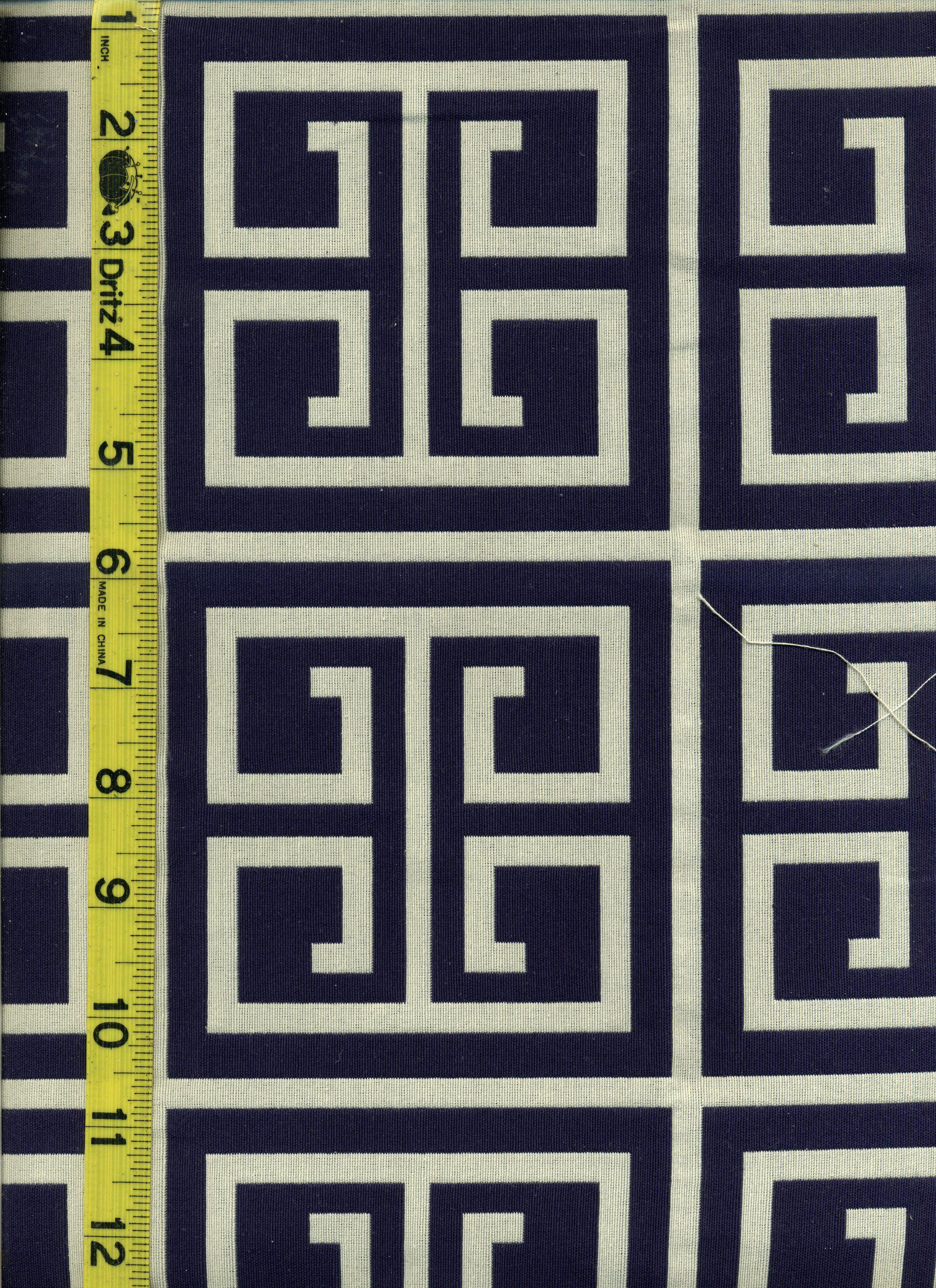 View Geometric Img9001 At Lotsofabric Com This Navy Greek Key