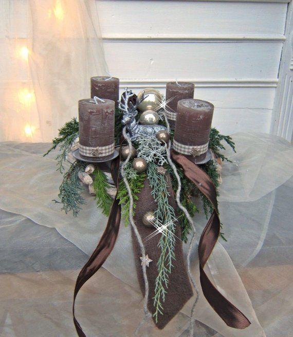 adventskranz zauberhirsch stekranz mit kerzenhaltern. Black Bedroom Furniture Sets. Home Design Ideas