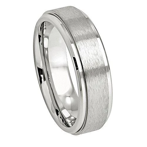 Only Our Cobalt Chrome Rings Are Made From The Highest Quality Materials And With Superior Craftsma Cobalt Wedding Band Rings Mens Wedding Bands Cobalt Wedding