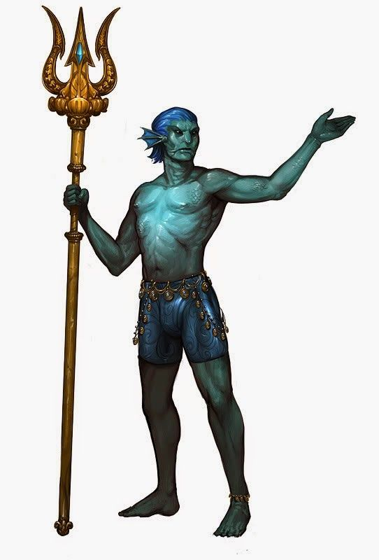 Image result for dungeons and dragons triton